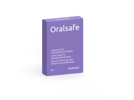 oralsafe latex packung